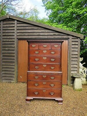 Superb Quality Georgian Mahogany Chest On Chest Circa 1790