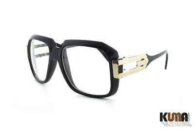 Classic Retro DMC Hip Hop Style Square Frame Large Metal Accents Glasses