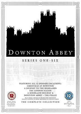 The Complete Downton Abbey Series All 6 Seasons & Christmas Specials New Sealed