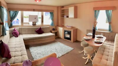 Sited Second hand static caravan for sale in North Wales