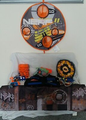 nerf gun, mags, target, ammo and more bundle