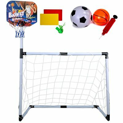 UK/_ PORTABLE BASKETBALL BALL HOOP SET WALL MOUNT BACKBOARD SHOOTING KIDS TOY ORN