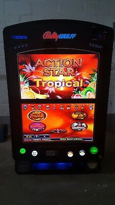 Bally Wulff ACTION STAR Tropical Geldspielgerät 26Zoll TFT Top !!! mit Dispenser