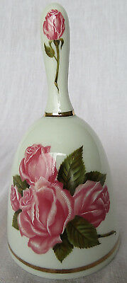 """Vintage Danbury Mint 1980 Mother's Day Limited Edition gold Porcelain Bell 6"""""""