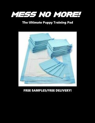 "23x36"" Ultimate SUPER ABSORBENT Training Mess No More Pads 150ct 56 Grams 8Hrs"