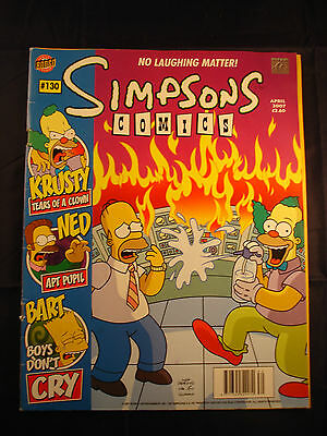 The Simpsons Comic - April 2007 - # 130
