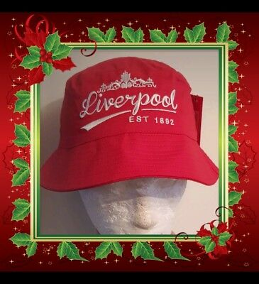 ef95f277d74 Liverpool Sun   Bucket Hat - Red and White - Adults - Great Xmas Gift ideas