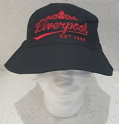 Liverpool Sun / Bucket Hat - Black and Red - Adults - Great Gift ideas