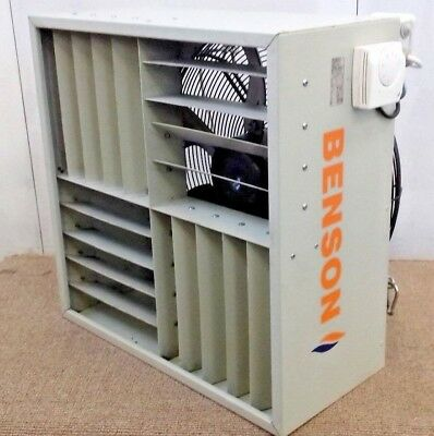 Benson Ceiling Commercial Roof Destratification Cooling Heating Extraction Fan