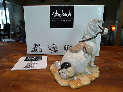 Royal Doulton Thelwell Pony Limited Edition & Signed