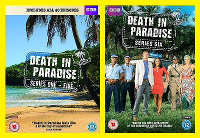 Death In Paradise Series Seasons 1-5 and season 6 New DVDs Pack