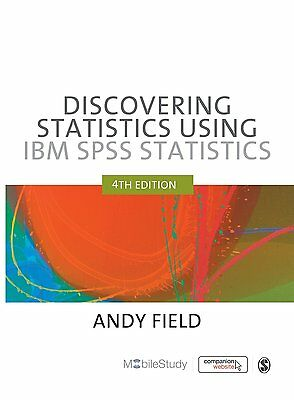 Discovering statistics using IBM SPSS 4th Edition BRAND NEW 9781446249185 lj