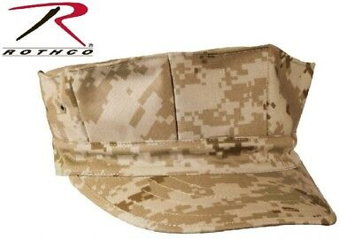 Desert Digital Camouflage Military Style Marine 8 Point Cover Fatigue Hat 5673