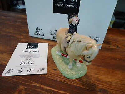 Royal Doulton Thelwell Limited Edition & Signed!