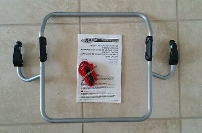 BOB Chicco KeyFit 30 infant car seat adapter single stroller 2011-2015. CS1003.