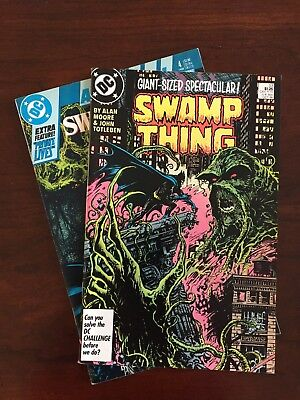 Swamp Thing #53, Annual #4 Oct, 1986) * 2 books * Batman! Avg VF+