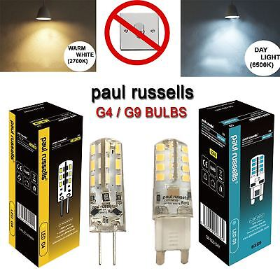 3/5/10X G4 G9 10W 25W LED Capsule Bulb Replace Halogen Light Lamps