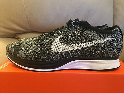 Nike Flyknit Racer 2.0 Oreo Eur 405 UK 6.5 US 7.5 Black White 526628012