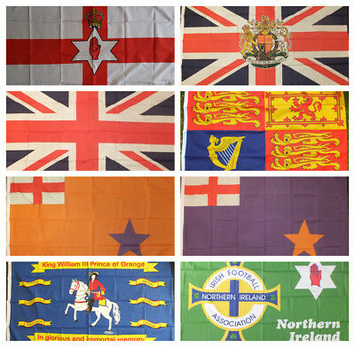Ulster Flag Royal British Unionist St George Cross Protestant Loyalist Belfast