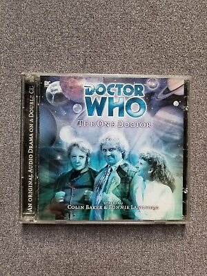 Doctor Who The One Doctor Big Finish Audio CD Colin Baker Signed