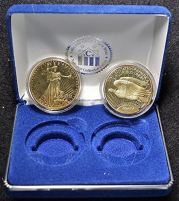Gold Plated 1933 St. Gaudens $20 Double Eagle Placeholder Coins
