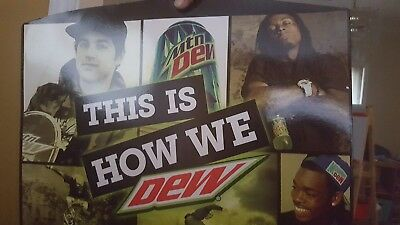 Never released Mountain Dew Promo