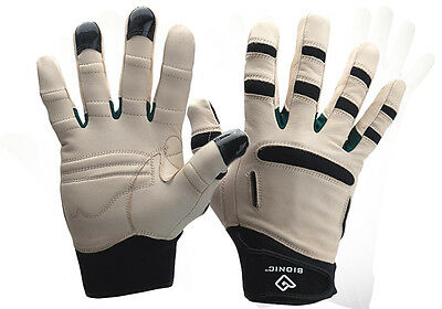 Bionic Mens Relief Grip Garden Gloves. Arthritis protection. Premium Leather