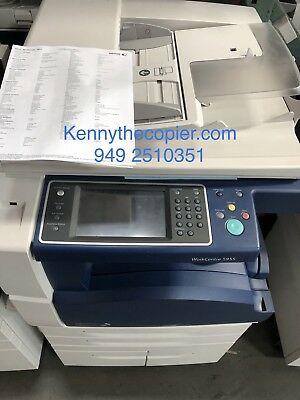 Xerox WC 5955,workcenter,copier,printer,color scan,clean,finisher