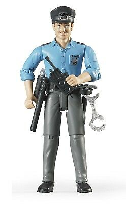 Bruder Policeman Light Skin Toy Figure with Accessories. Bruder Toys
