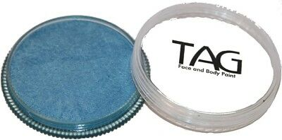 32g TAG Professional Face Paint Pearl Colour ~ Pearl Sky Blue. Free Delivery