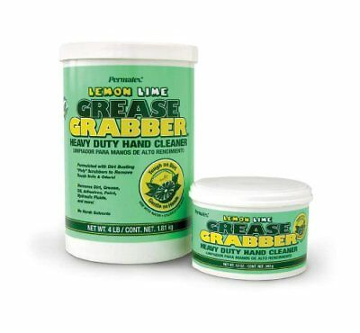 Permatex 13106 Grease Grabber Heavy Duty Lemon Lime Hand Cleaner,  4 Lbs.