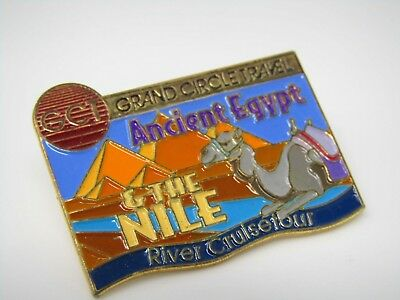 Vintage Collectible Pin: Grand Circle Travel Ancient Egypt The Nile River Cruise