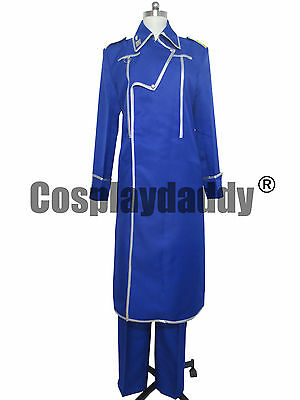 FullMetal Alchemist King Bradley Military Uniform Cosplay Costume H008