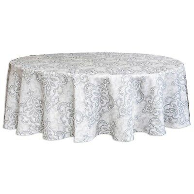 70 Inch Round Table Cloth.Bardwil Linens Carina 70 Inch Round Tablecloth Water Repellent