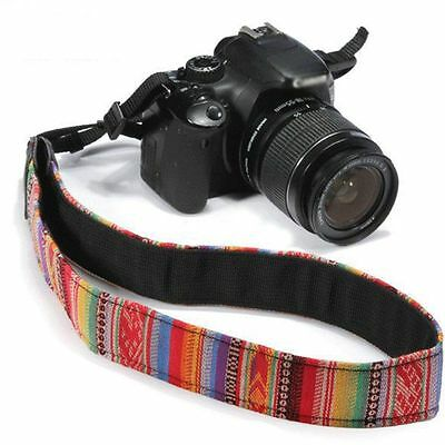 New Vintage SLR DSLR Camera Shoulder Neck Strap Belt for Canon Nikon Pentax Sony