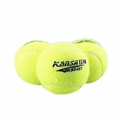 KANSA 3 PCS Professional Training Grade Sports Tennis Balls Fluorescent gre D4G8