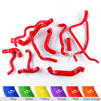 Red For 09 10 11 12 13 Ducati Streetfighter S 1098 Silicone Radiator Hoses Pipes