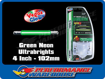Vegas Glow Ultrabrights 4 Inch Neon Green Pulses To Music Car Ute Boat
