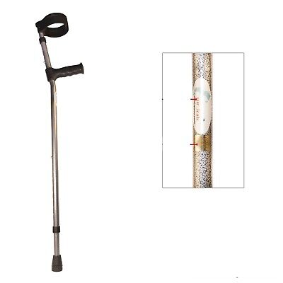 Crutches Elbow / Forearm, Adult Adjustable Handle & Height--- High load Bearing