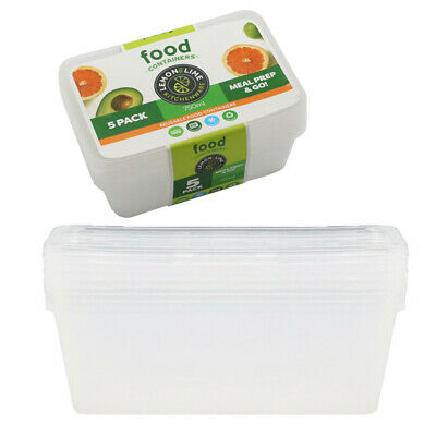 750ML TAKE AWAY CONTAINERS with LIDS DISPOSABLE PLASTIC FOOD CONTAINER 750ml