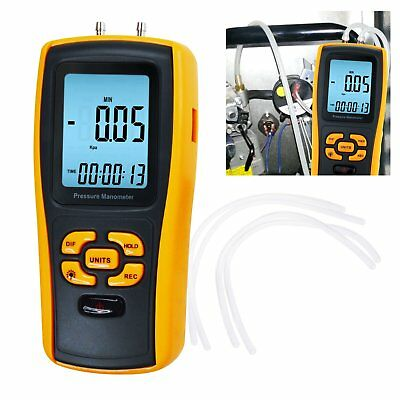USB Interface Manometer 11 Units Differential Air Pressure Instrument Tester