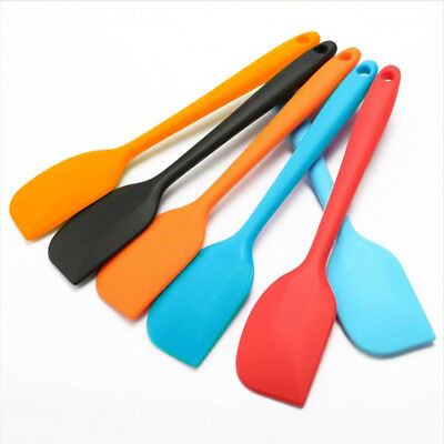 Flexible Cream Butter Spatula Mixing Batter Silicone Scraper Cake Baking Tool GB