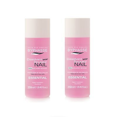 Lot de 2 - Dissolvant Essential - Tous les types d'ongles - 250 ml