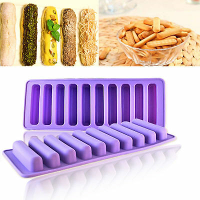Silicone Finger Chocolate Cookies Cutter Ice Cube Sugarcraft Cake Baking Mould