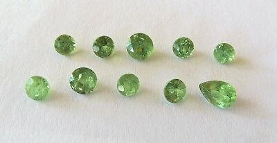 demantoid lot