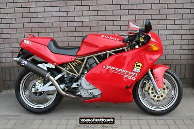 Ducati 750 Ss Supersport 1995 900 600 Cc V Twin Classic Collectible