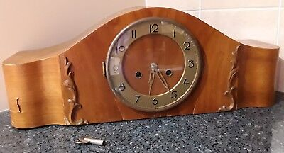 Deutsches Patent Mantle Clock Made in Germany