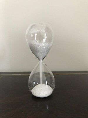 Timer Home Cookware, Dining & Bar Supplies BLUE Glitter Crystal Glass Sand Timer Kitchen Decorate Hourglass Christmas Gift