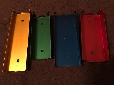Set of 4 Aluminum Coin Trays Quarter Dime Nickle Penny Bank Coin Roll Holder