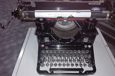 OLIVETTI M40 II SERIE  del 1938 OLD  TYPEWRITER MADE IN ITALY